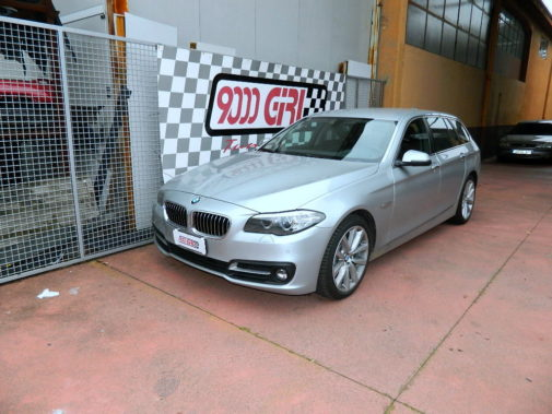 Bmw 525 tds touring powered by 9000 Giri