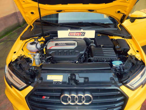Audi S3 powered by 9000 Giri