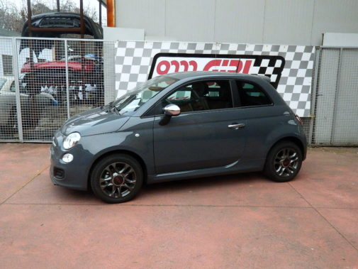Fiat 500 1.3 Mjet con allestimento Abarth powered by 9000 Giri