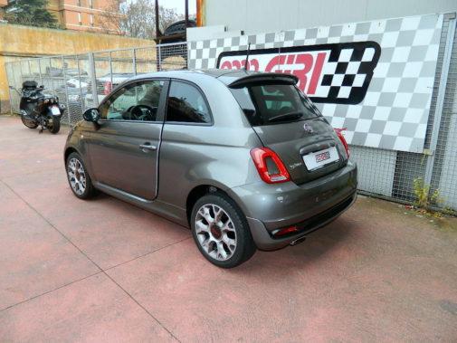 Fiat 500S powered by 9000 Giri