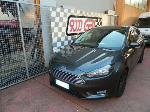Ford Focus 1.5 tdci powered by 9000 giri