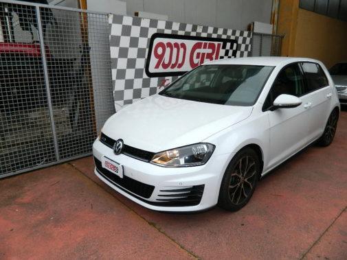 Golf VII 1.6 tdi 110cv powered by 9000 Giri