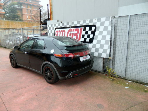 Honda Civic powered by 9000 Giri