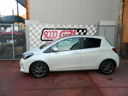 Toyota Yaris D4D powered by 9000 Giri