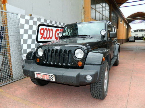 Jeep Wrangler Jk Unlimited 2.8 crd powered by 9000 Giri