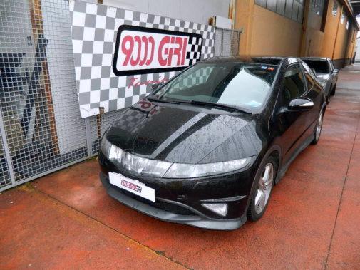 Honda Civic 2.2 cdti powered by 9000 Giri