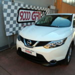 "Elaborazione Nissan Qashqai 1.6 td ""Artic white"""