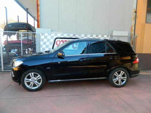 Mercedes Ml 250 cdi powered by 9000 Giri