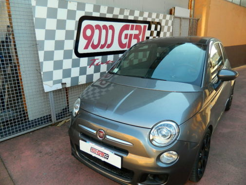 Fiat 500 1.3 mjet powered by 9000 Giri