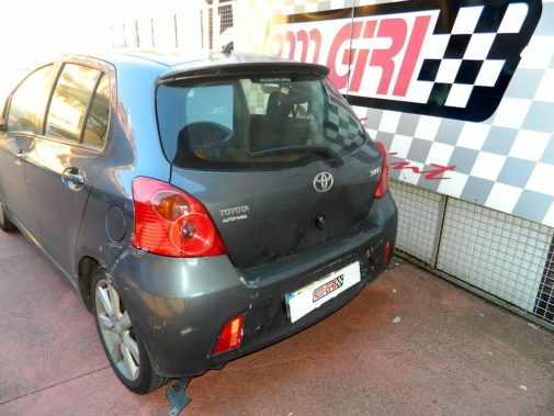 Toyota Yaris vvt-i powered by 9000 Giri