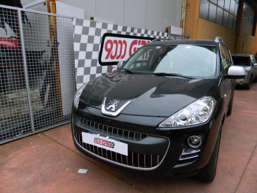 Peugeot 4007 2.2 hdi powered by 9000 Giri