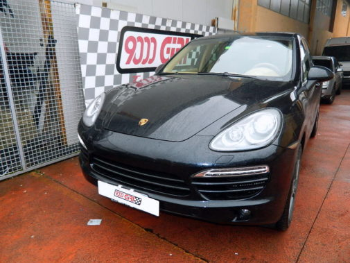 Porsche Cayenne 3.0 td powered by 9000 Giri