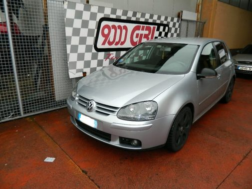 Vw Golf V 2.0 tdi powered by 9000 Giri