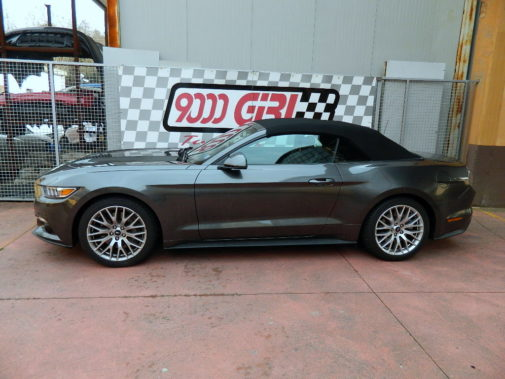 Ford Mustang 2.3 Ecoboost cabrio powered by 9000 Giri