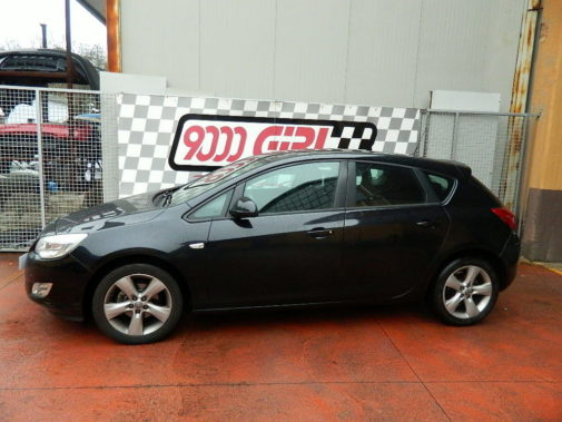 Opel Astra 1.4 turbo ecoboost powered by 9000 Giri