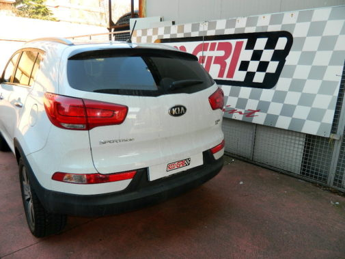 Kia Sportage 1.7 crdi powered by 9000 Giri