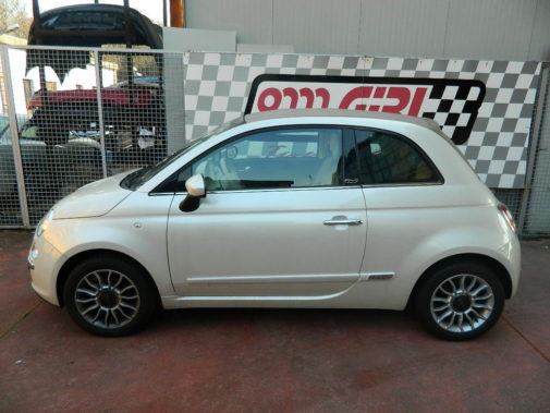Fiat 500 1.2 cabrio powered by 9000 Giri