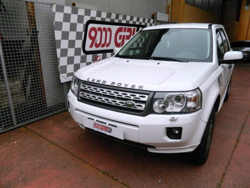 Land Rover Freelander II 2.2 Tdci powered by 9000 Giri