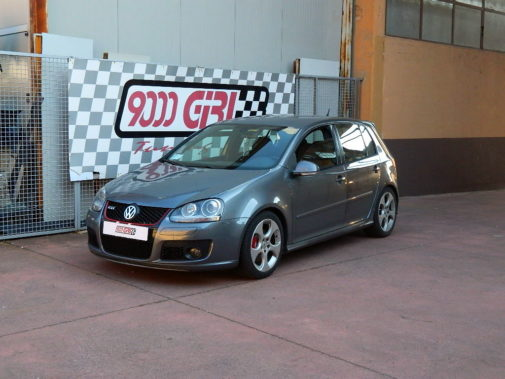 Vw Golf V gti 2.0 Tfsi powered by 9000 Giri