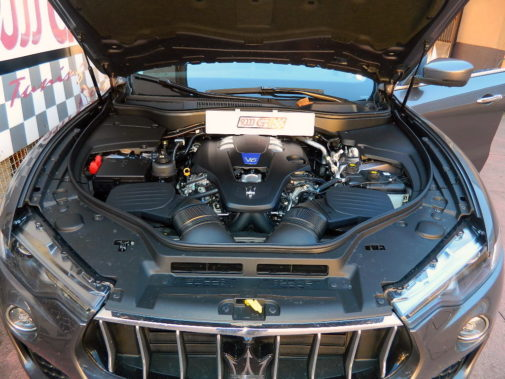 Maserati Levante S V6 biturbo powered by 9000 Giri