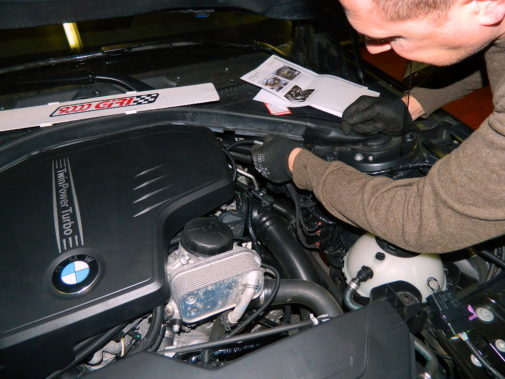 Bmw 328i F30 powered by 9000 Giri