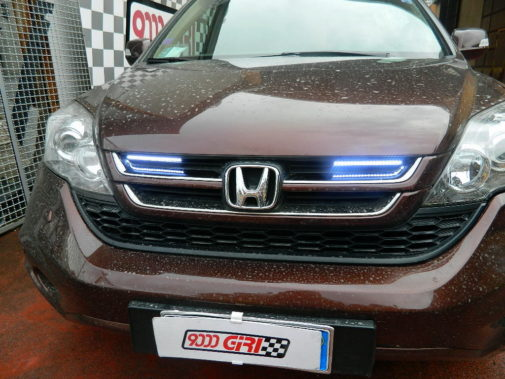 Honda Crv 2.2 crd powered by 9000 Giri