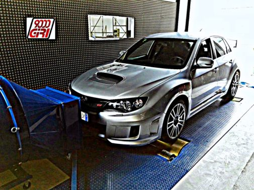 Subaru Impreza Wrx Sti 2.5 powered by 9000 Giri
