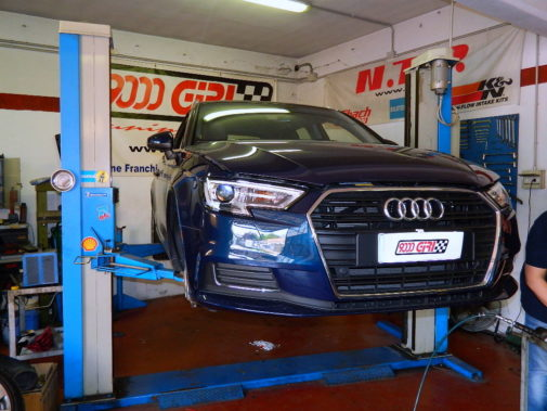 Audi A3 1.6 Tdi powered by 9000 Giri
