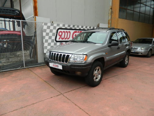 Jeep Grand Cherokee Wj powered by 9000 Giri