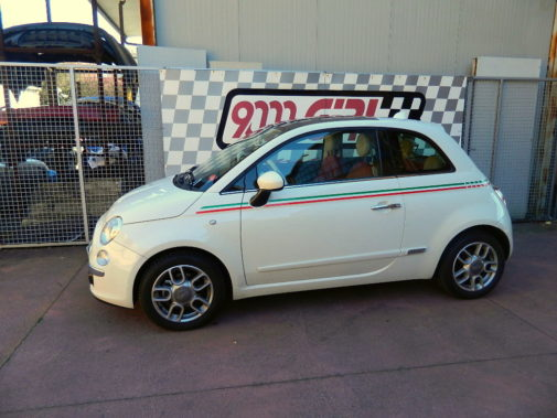 Fiat 500 1.4 16v powered by 9000 Giri
