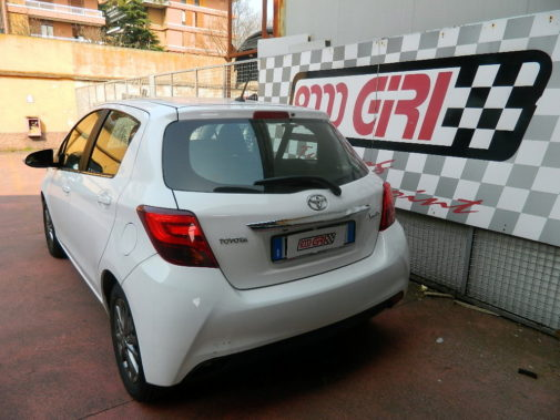 Toyota Yaris 1.4 D4-D powered by 9000 Giri