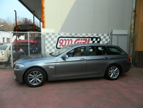 Bmw 525 td powered by 9000 Giri