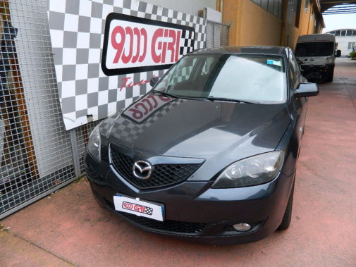 Mazda 3 1.6 cdi powered by 9000 Giri