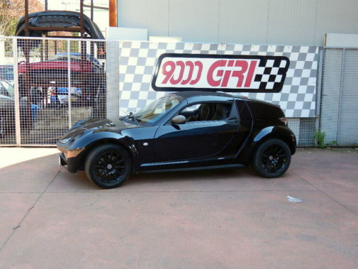 Smart Roadster powered by 9000 Giri