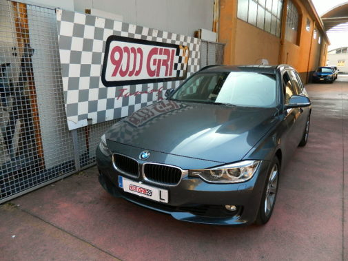 Bmw 325 td E91 powered by 9000 Giri