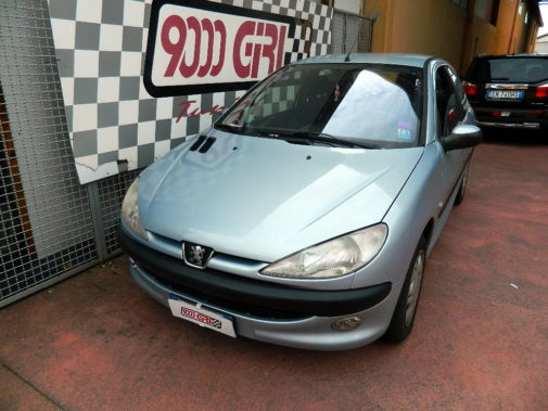 Peugeot 206 powered by 9000 Giri