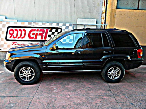 Jeep Grand Cherokee Wj 2.1td powered by 9000 Giri