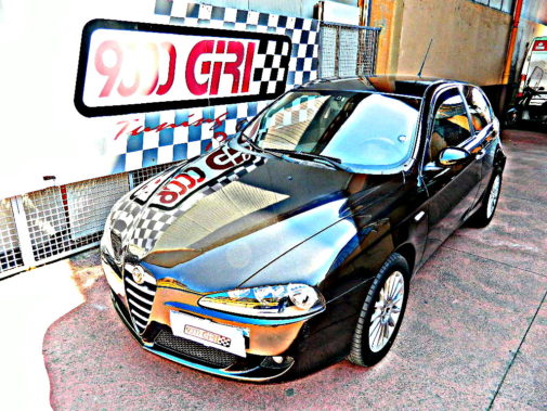 Alfa Romeo 147 Jtd powered by 9000 Giri