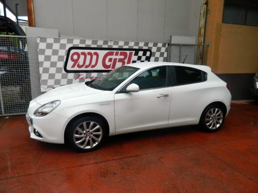 Alfa Romeo Giulietta 1,4 tb powered by 9000 Giri