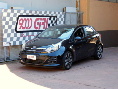 Kia Rio 1.2 powered by 9000 Giri