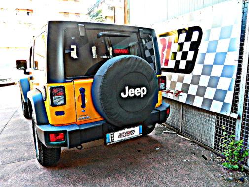 Jeep Wrangler Jk Rubicon powered by 9000 Giri