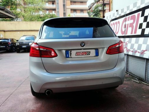 Bmw 218d powered by 9000 Giri