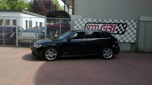 Audi A3 1.6 Tdi powered by 9000 Giri