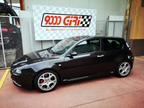Alfa Romeo 147 3.2 V6 Gta powered by 9000 Giri