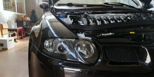 Alfa Romeo 147 3.2 V6 Gta powered by 9000 Giri