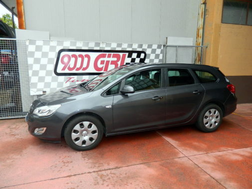 Opel Astra 1.4 Turbo gpl Sport Tourer powered by 9000 Giri