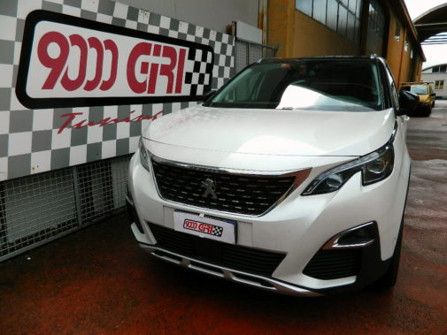 Peugeot 3008 1.6 hdi powered by 9000 Giri