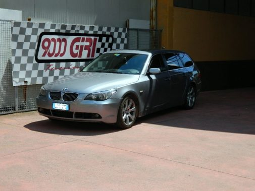 Bmw 535d E60 Touring powered by 9000 Giri