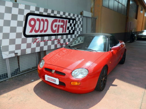 Mg Tf powered by 9000 Giri