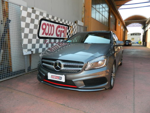 Mercedes classe A 180 Cdi powered by 9000 Giri